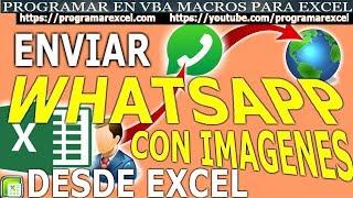 495 Como💥 Enviar Imagenes en ✅ Whatsapp con Excel