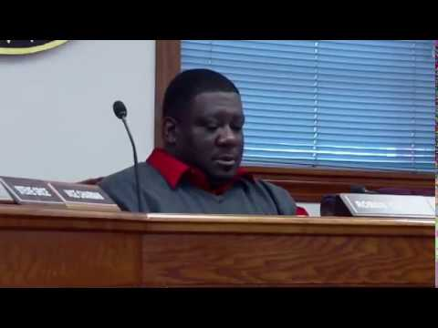 Dillon County Council Meeting 3-22-17