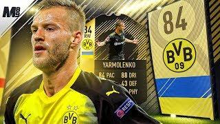 FIFA 18 IF YARMOLENKO REVIEW | 84 OTW YARMOLENKO PLAYER REVIEW | FIFA 18 ULTIMATE TEAM