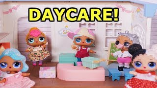 BARBIE Drops LOL SURPRISE DOLLS Off At Daycare! Magical Daycare