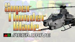 Super Thunder Blade - Mega Drive - Review