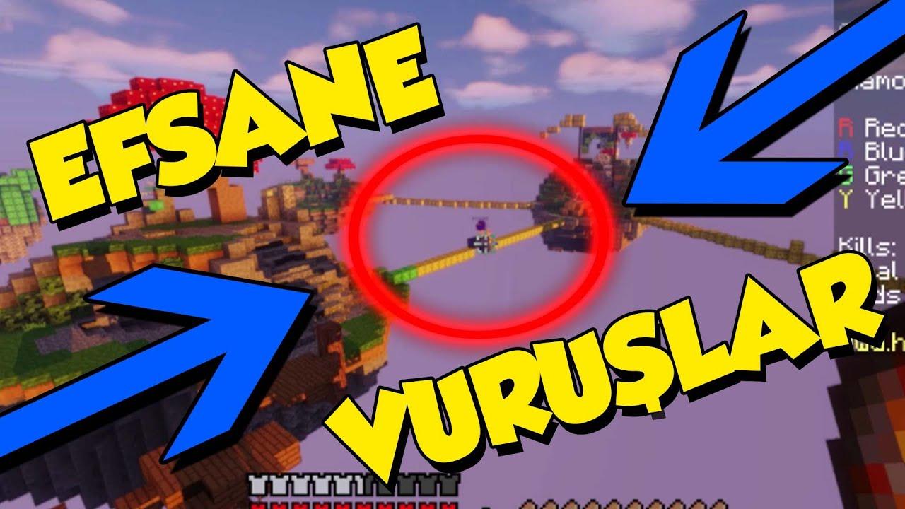 Minecraft'ta EFSANE VURUŞLAR !! (Kill Montage) (2020)