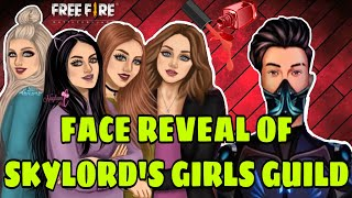 SKYLORD'S girls guild face reveal