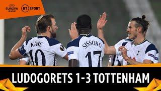 Ludogorets vs Tottenham (1-3) | Europa League Highlights