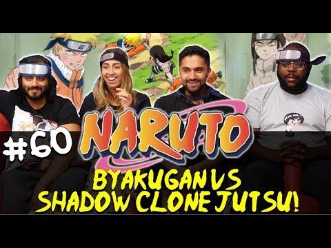 Naruto - Episode 60 Byakugan vs Shadow Clone Jutsu! - Group Reaction
