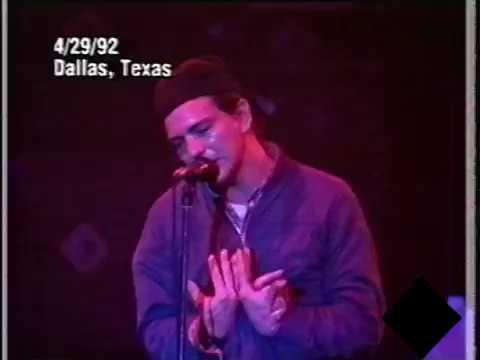 Pearl Jam - 1992-04-29 Dallas, TX