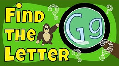 Alphabet Games   Find the Letter G