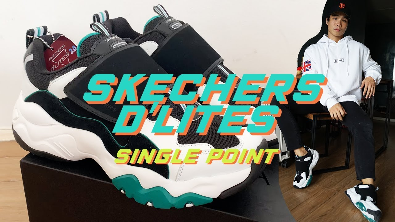 Skechers Dlites 3.0 Single Point Unboxing + On feet