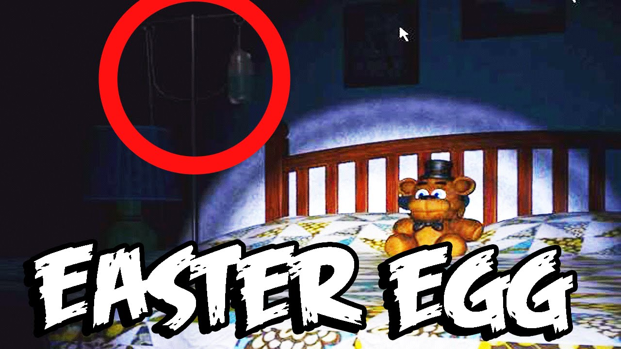 Five Nights at Freddy's 4: IV BAG *NEW* SECRET EASTER EGG