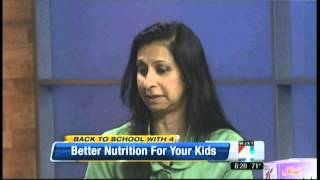 Back To School Healthy Nutrition For Breakfast And Lunch