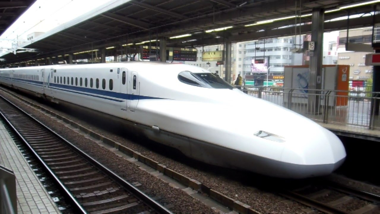 300km/hr Bullet Train Ride in Japan! - YouTube