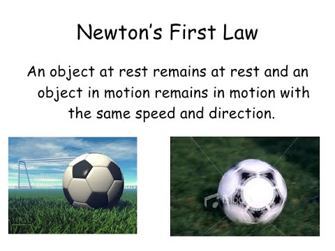 Newton's First Law - Explained in Pidgin English