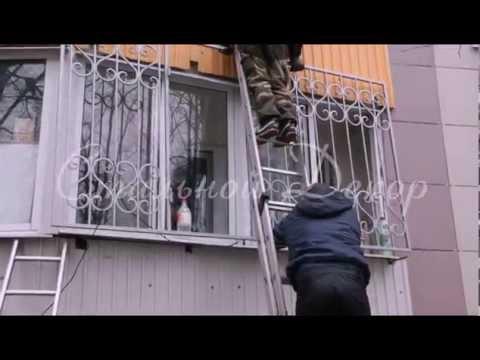 Сварные решетки на балкон РС-38 - Стальной Декор