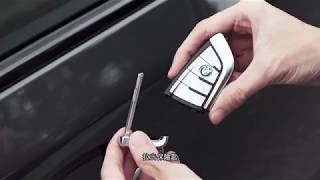 BMW X3 - Unlocking Vehicle Door when Key Fob is Out of Battery