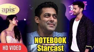 Salman Khan Films Debutant Zaheer Iqbal and Pranutan Bahl at Nickelodeon Kids Choice Awards 2018