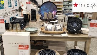 MACY'S KITCHENWARE LUCKY BRAND MARTHA STEWART WALK THROUGH 2019
