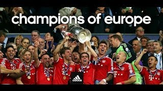 FC Bayern • Champions League 2012/2013 • Time to glory