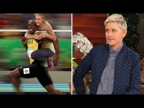 Ellen DeGeneres Defends Controversial Usain Bolt Meme After Receiving Backlash