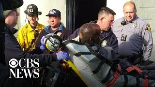 Man rescued from greasy restaurant vent after 2 days