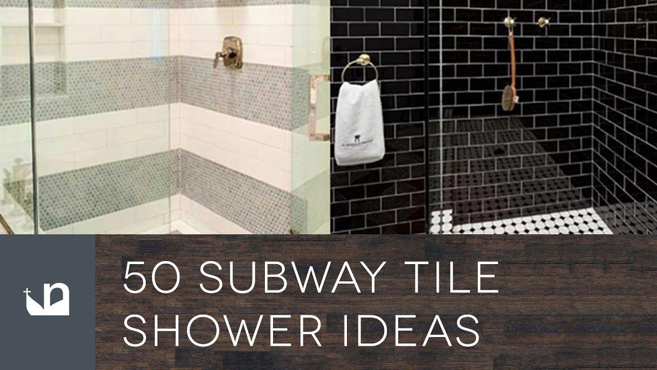 50 subway tile shower ideas
