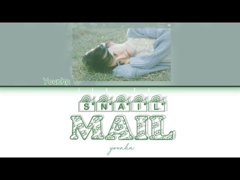 "YOUNHA ""Snail Mail"" (Sub Indo) Lirik {Color Coded-Rom-Ind}"