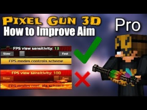 5 Ways To Improve Aim In Pixel Gun 3D!