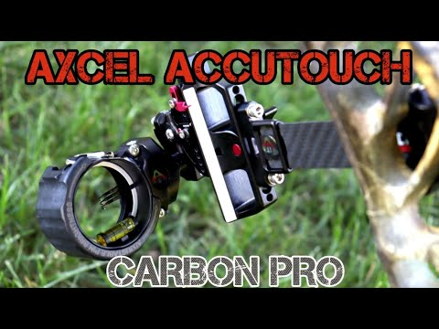 MY HUNTING SIGHT!  First Look And Setup | AXCEL ACCUTOUCH CARBON PRO