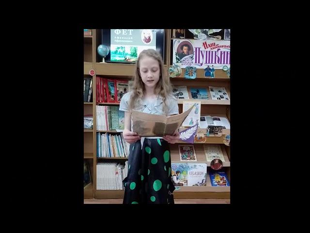 Изображение предпросмотра прочтения – ЕлизаветаГостева читает произведение «Чудная картина» А.А.Фета