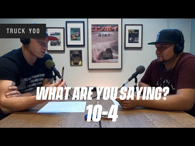 Trucking lingo. Abbreviations and trucking secret terminology in trucking. Episode 43