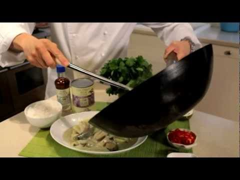How to make Green Thai Curry with Chicken, video recipe