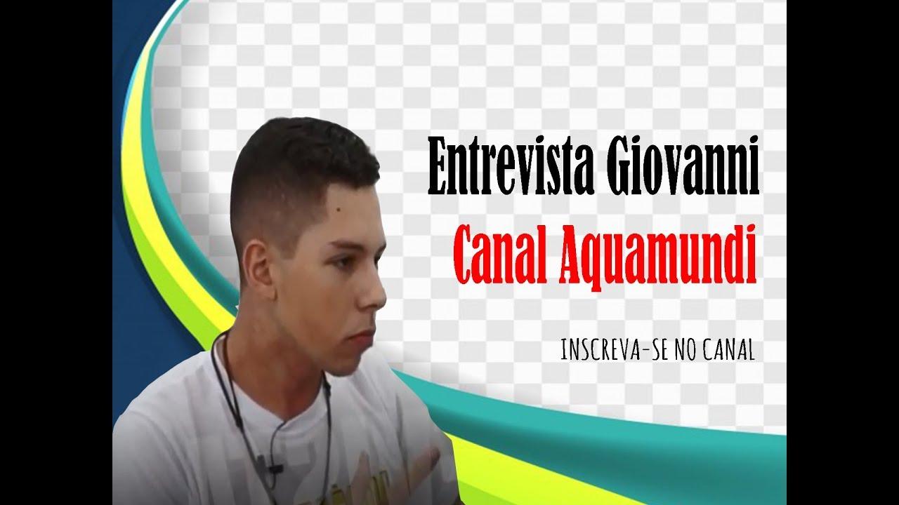 ENTREVISTA GIOVANNI - 2 CONFERENCIA DE AQUARISMO