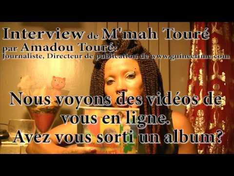 Mmah Touré parle à Guinétime com  Exclusif