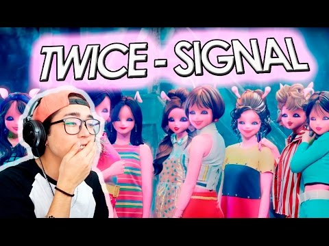 Thumbnail: TWICE - SIGNAL MV REACTION | kenroVlogs