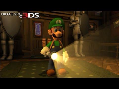 Luigi's Mansion: Dark Moon - Gameplay Nintendo 3DS Capture Card