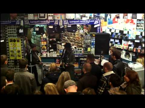 The Rifles In-store at Banquet Records (full set) - Feb 2014