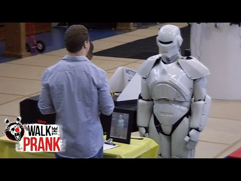 Science Fair Robot | Walk The Prank | Disney XD