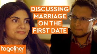 Couple Discuss Marriage On Their First Date | Extremely British Muslims