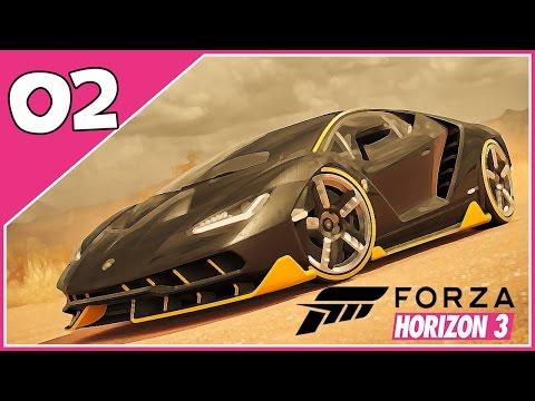 Forza Horizon 3 - #2 - VAMOS PARA O OUTBACK!!  - Dublado PTBR