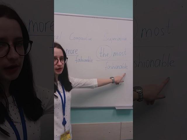English rules  Сегодня разбираем степени сравнения сложных прилагательных