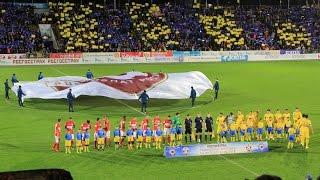 Ростов-Спартак-2:0, фанаты, файера, перфоманс, хулиган на поле