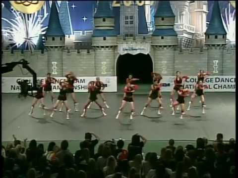 University of Cincinnati Dance Team - 2009 UDA Nationals
