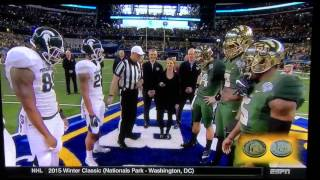 79th Goodyear Cotton Bowl Classic - Rangerette Director, Mrs. Dana Blair Coin Toss