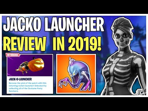 The Pumpkin Launcher Nearly 3 Years Later! Jacko Launcher Re-Review | Fortnite Save The World