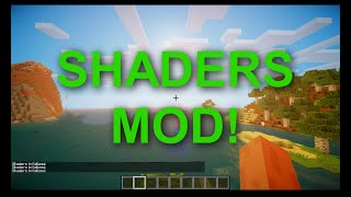 Minecraft - SHADERS PARA PC FRACO/RUIM QUALQUER VERSÃO (Shader Pack / Mod das sombras)