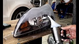 FORD FOCUS HEADLIGHT CLEANING