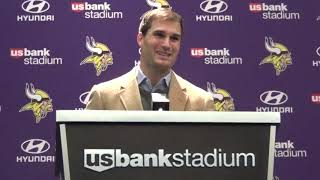 Kirk Cousins discusses 'critical errors,' clock management