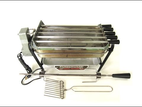 Farberware Open Hearth Rotisserie Grill Kebab Attachment
