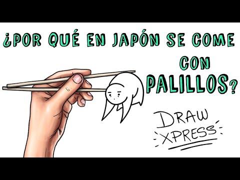 ¿POR QUÉ EN JAPÓN SE COME CON PALILLOS? | Draw My Life