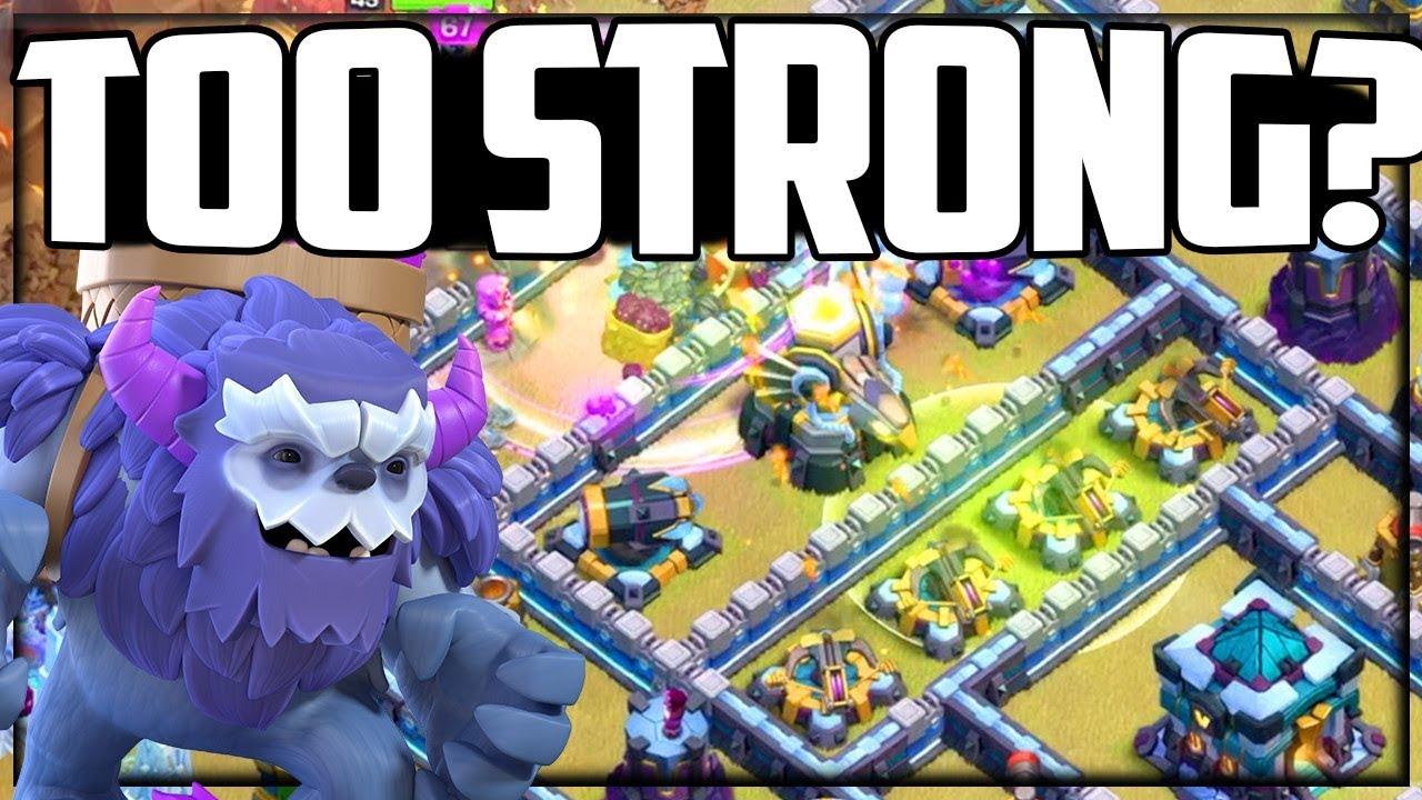 SMASHED! NEW Clash of Clans Troop SO STRONG at Town Hall 13!