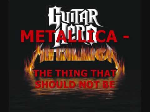 OFFICIAL GUITAR HERO METALLICA SETLIST!!!!